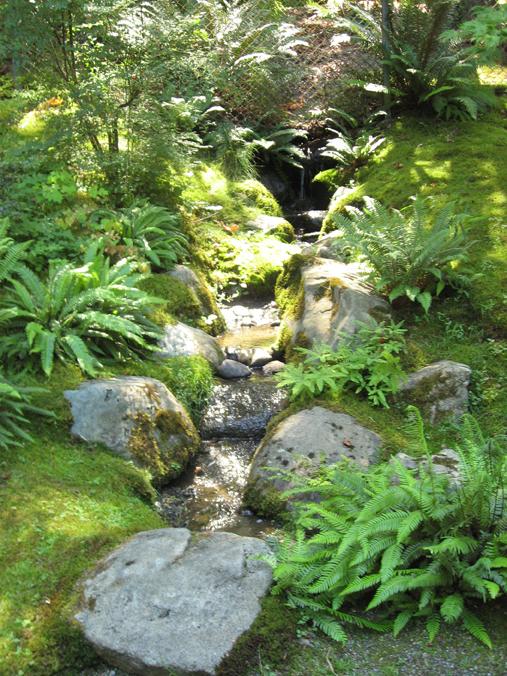 Exellent Home Design Garden Waterfall
