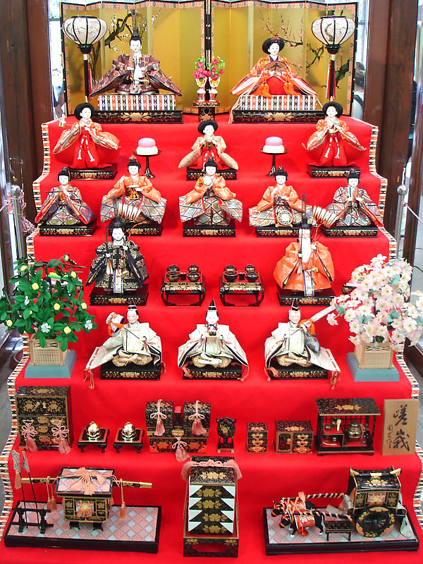Hinadan - Hina Matsuri 2008   Discover Nikkei