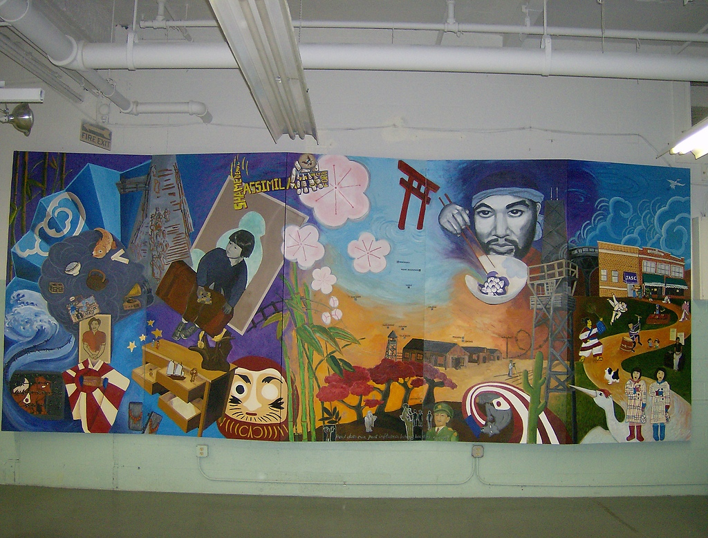 Jasc japanese american sevice committe of chicago 39 s mural for Chicago mural project