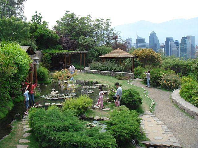 Chile las piscinas y lagunas artificiales mas grandes del for Jardin japones piscina