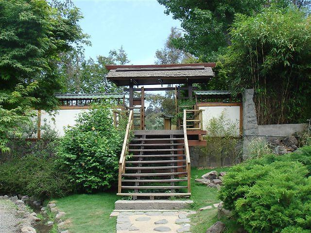 Jard n japon s parque metropolitano de santiago san for Jardin japones