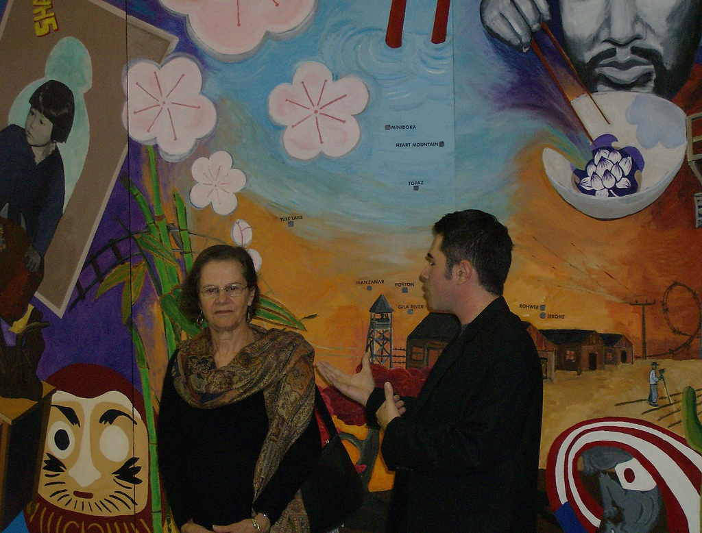 Jasc mural project coordinators descubra a los nikkei for American mural project