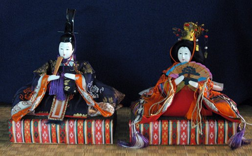 Hina Doll Set Emperor Amp Empress Discover Nikkei