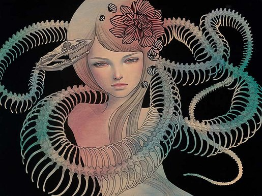 How Much Is An Audrey Kawasaki Paint On Wood