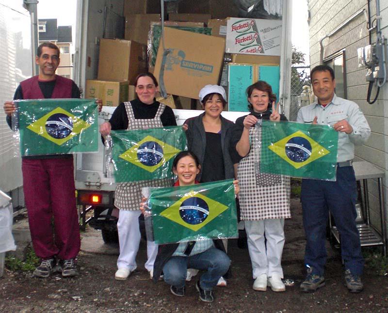 在日ブラジル人に感謝の言葉を贈...