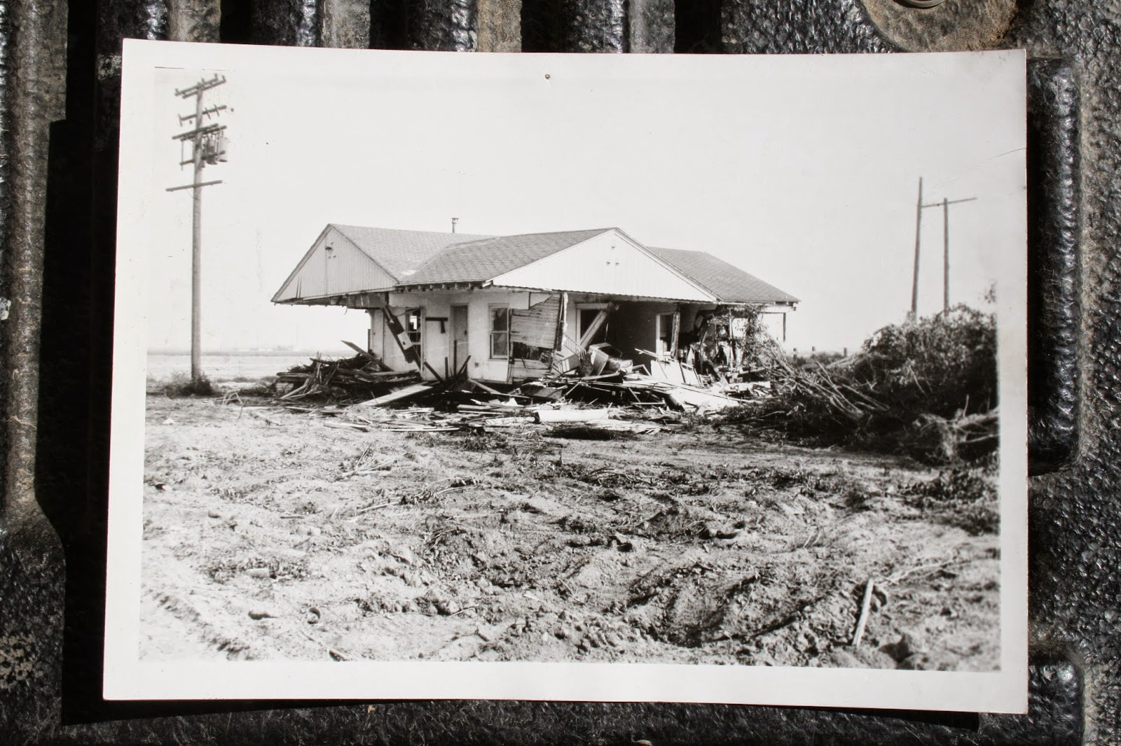 Destruction of Mom's house at Wintersburg Ranch, 1964, from Douglas McIntosh.jpg