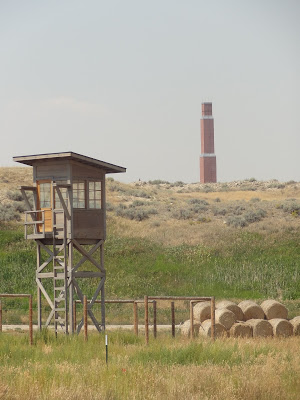 guard tower, Heart Mountain