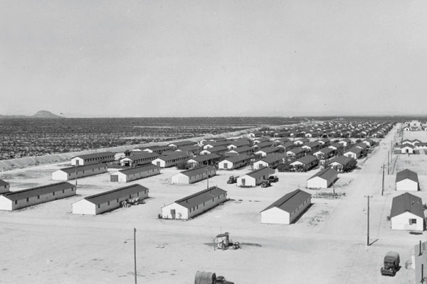 an analysis of the internment of japanese americans into camps during the second world war Caused the relocation of japanese americans to internment camps of world war ii, franklin d to round-up japanese americans into one of the 10 internment.