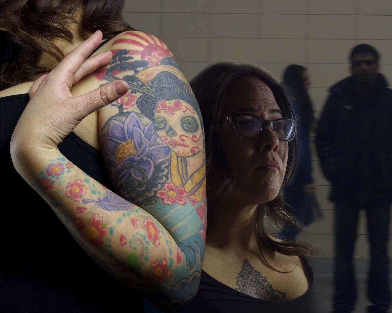 Toronto tattoo artist aba bayefsky discover nikkei for Toronto tattoo artists