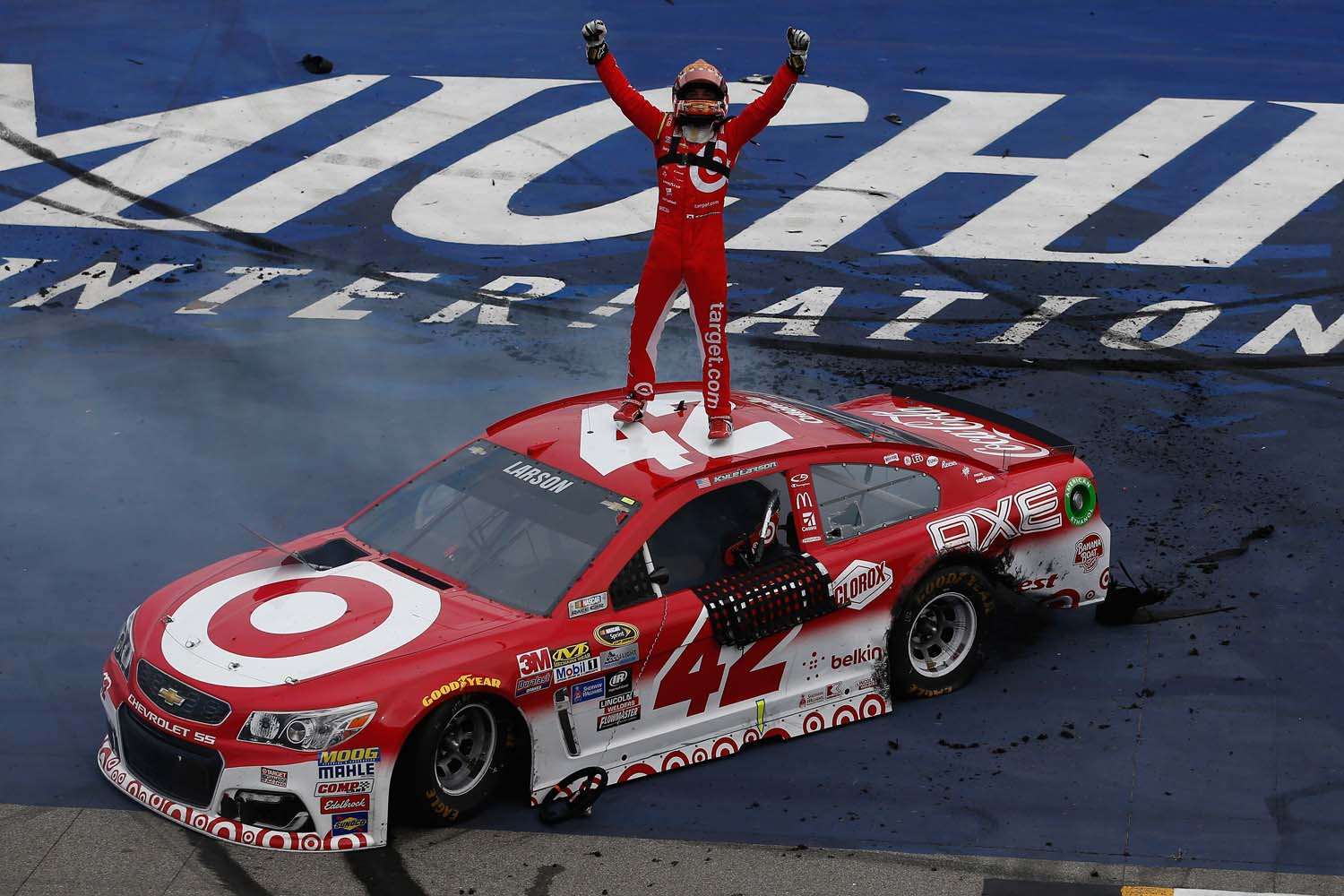 Driving Diversity: Kyle Larson, First Japanese American to Win at ...